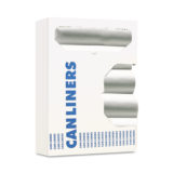 24×33 12-16 Gallon Clear Liners 6 Micron