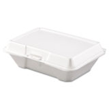 Dart® Foam Hinged Lid To-Go Containers