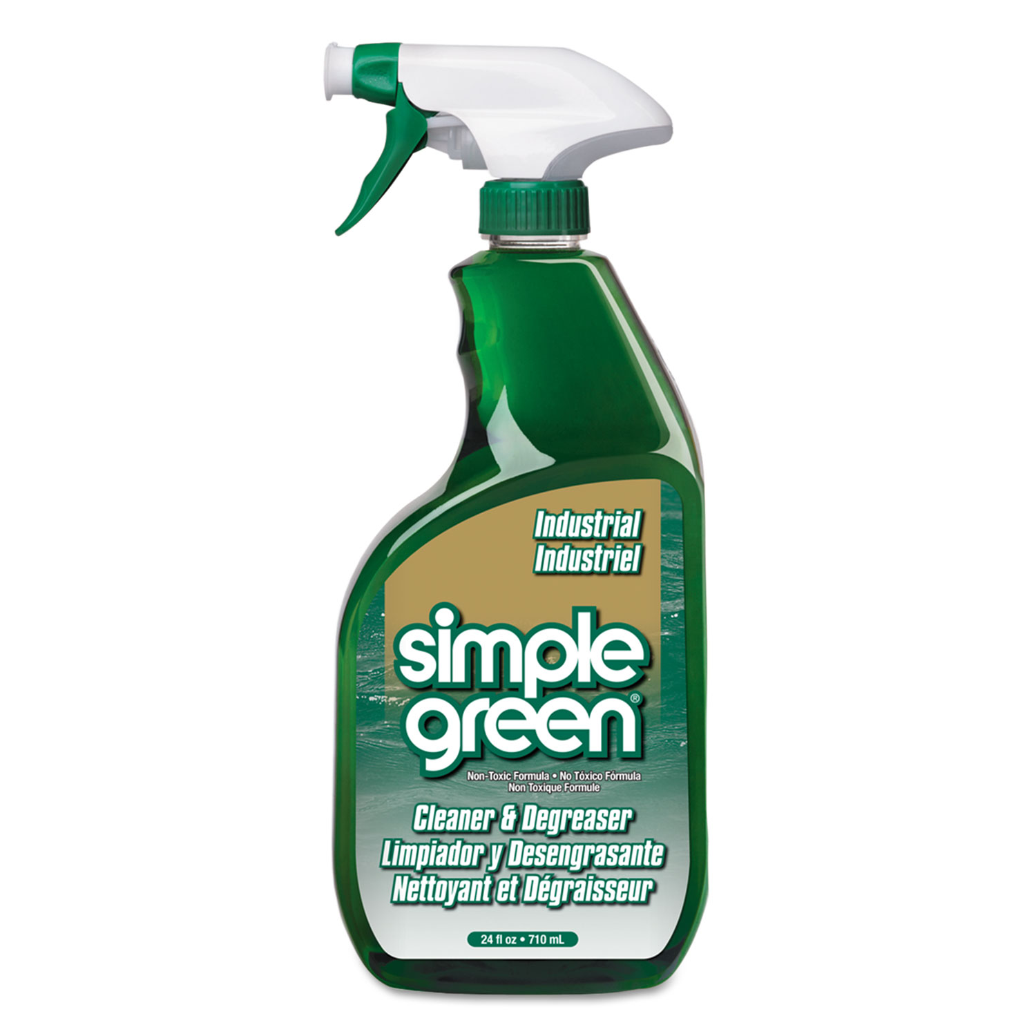 Simple Green Industrial Cleaner Amp Degreaser Quarts Cr